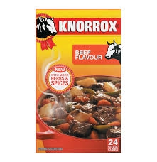 Beef Stock Cubes KNORR 24s